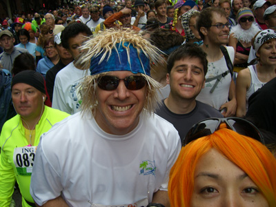 Dave at the starting line 2010!