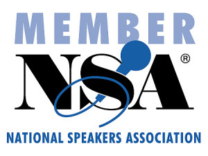 Member National Speakers Association NSA